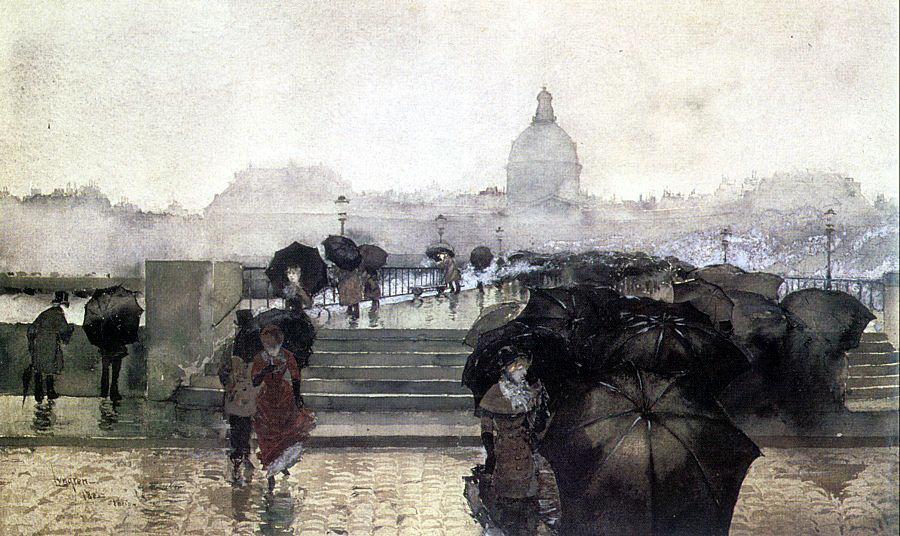 Фернан Харви Лунгпен. Черные зонты