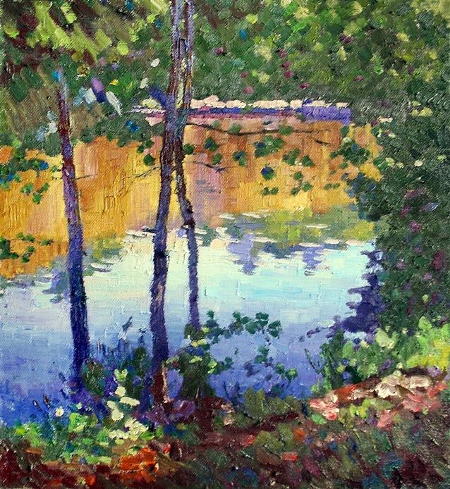 Михаил Рудник. Lake
