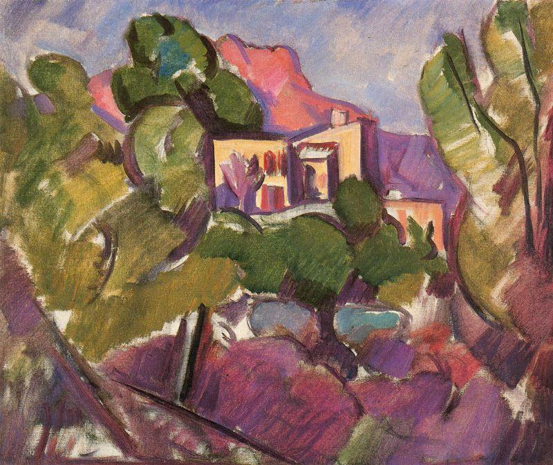 Marsden Hartley. House