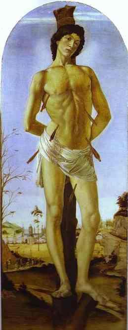 Сандро Боттичелли. Святой Себастьян