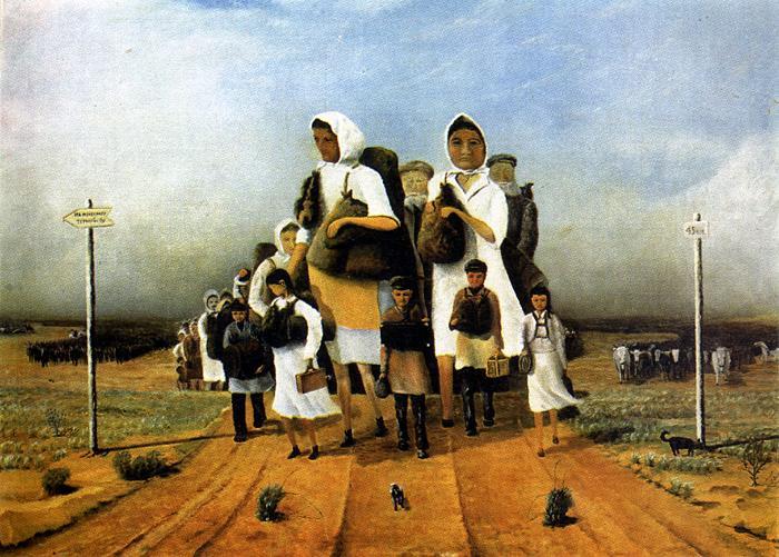Victor Iosifovich Schneider. Our childhood. Evacuation