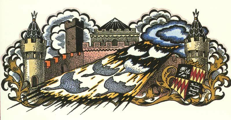 Кей Нильсен. Иллюстрация к сказке Шесть лебедей
