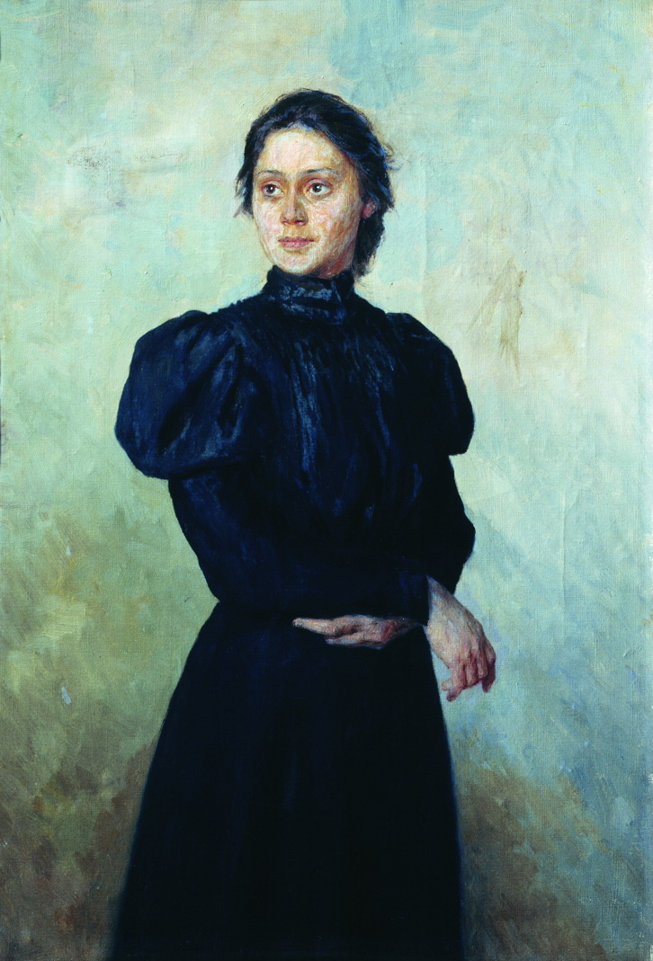 Nikolay Aleksandrovich Yaroshenko. Portrait of Vera Glebovna Uspenskaya.