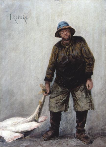 Алексей Петрович Боголюбов. Костюм рыбака