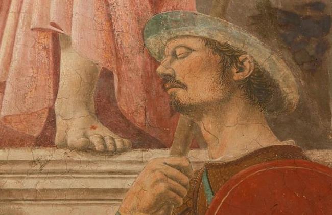 """Пьеро делла Франческа. """"Воскресение"""" (фрагмент 1)"""