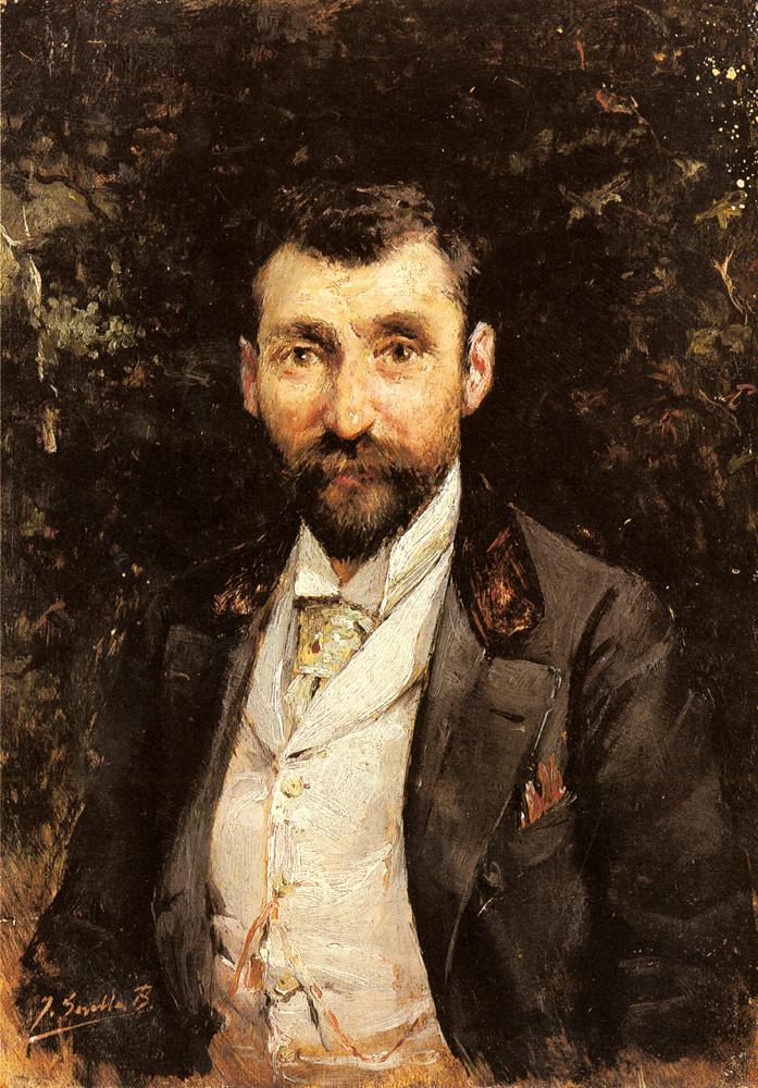 Хоакин Соролья (Соройя). Портрет господина