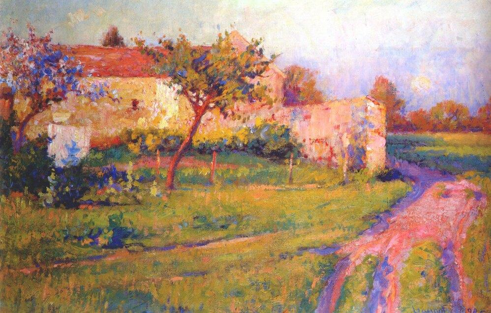 Роберт Воннох. Весна во Франции