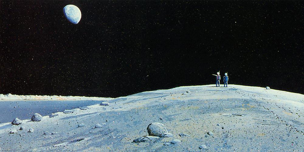 Уильям Хартманн. Луна