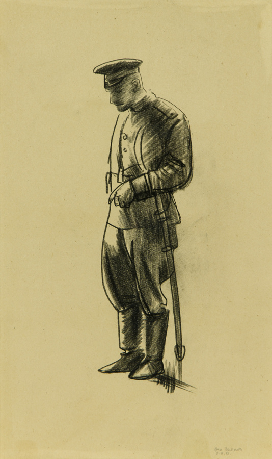 George Wesley Bellows. Officer