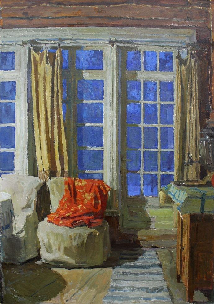 Alexey Mikhailovich Gritsay. The interior of the house