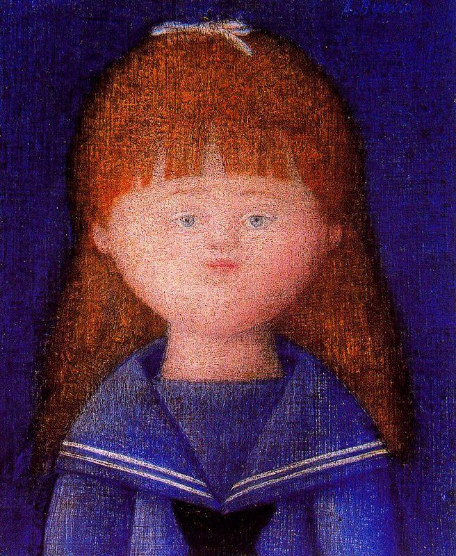 Антонио Буэно. Портрет девочки