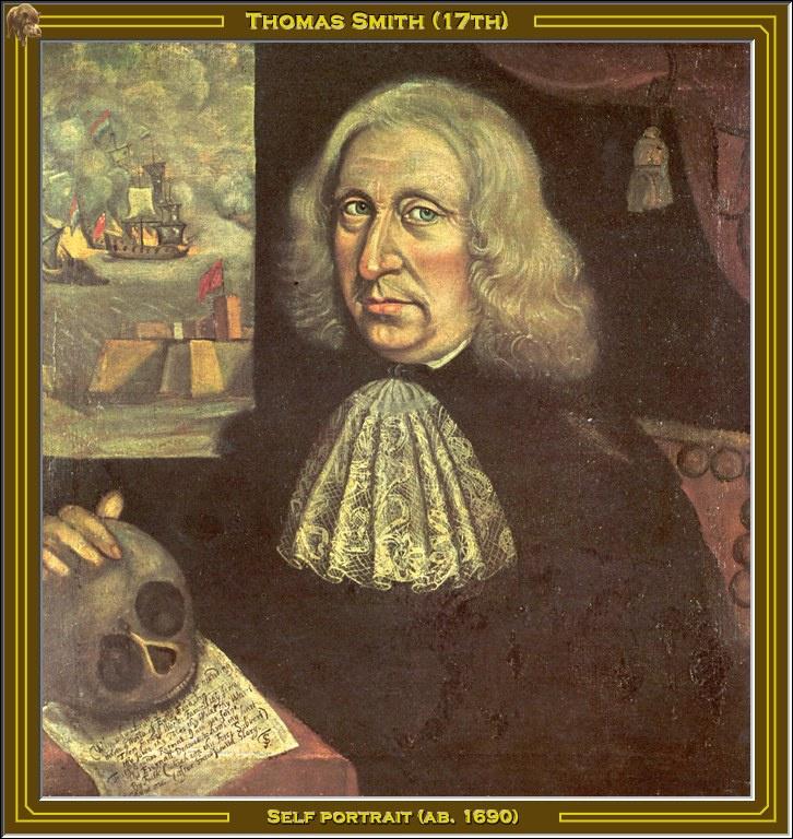 Smith Thomas. Self-portrait