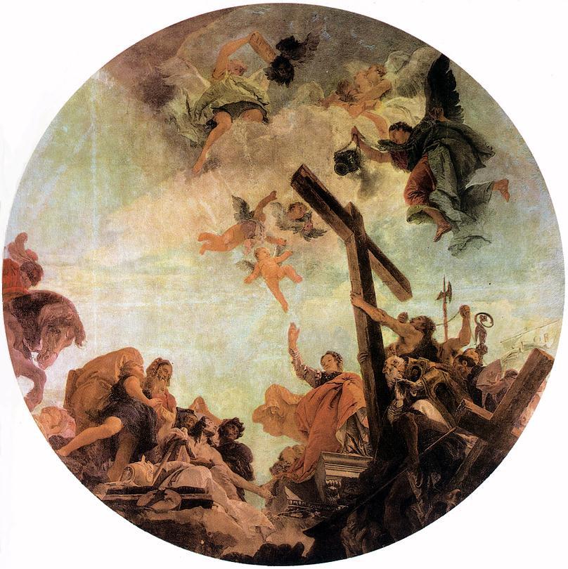 Джованни Баттиста Тьеполо. Открытие истинного креста