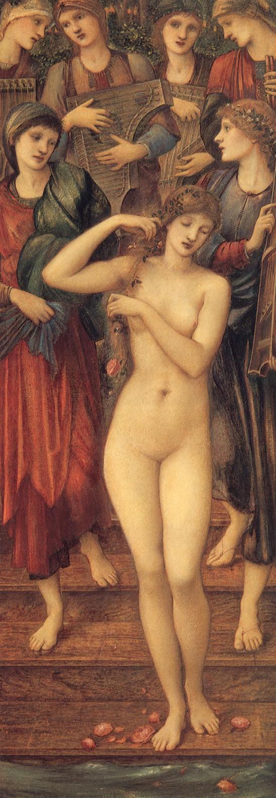 Edward Coley Burne-Jones. The Bath of Venus