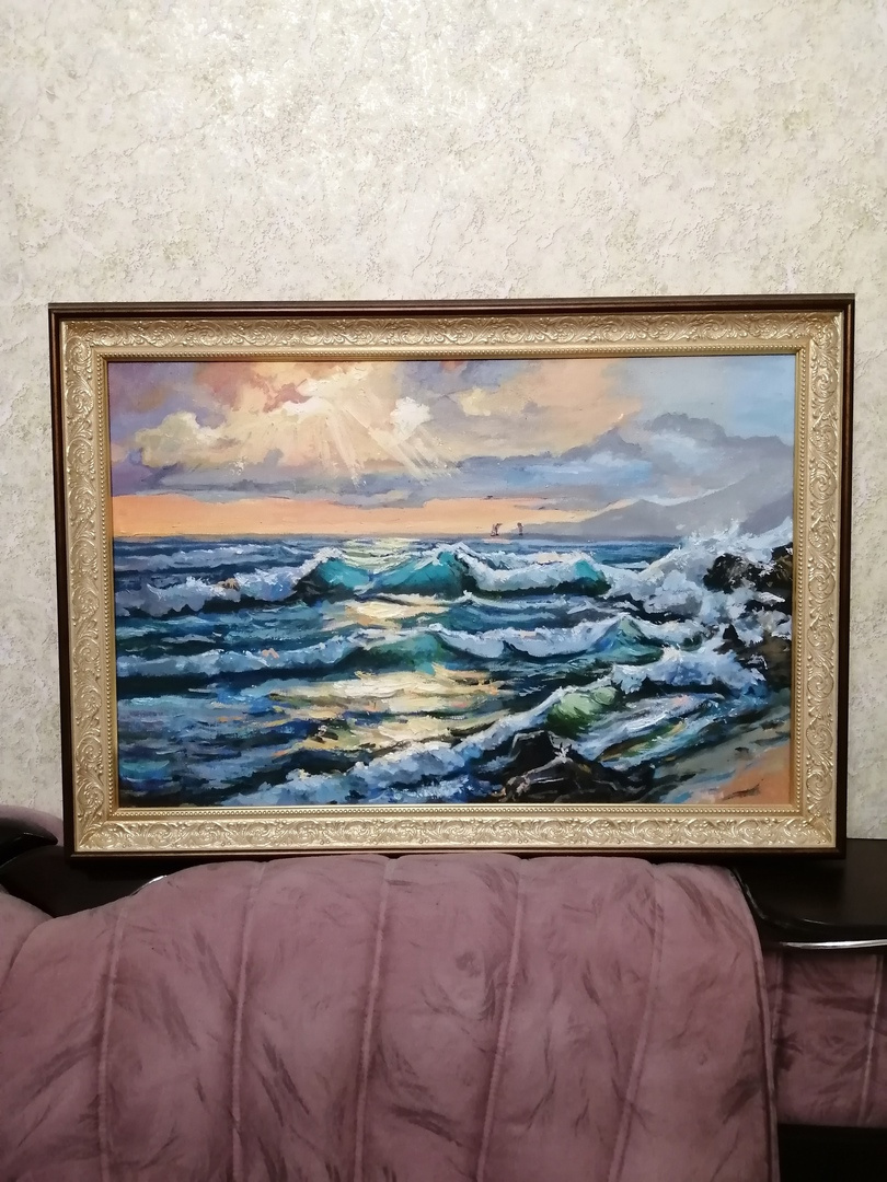Vladislav Olegovich Mandrygin. Seascape (copy)
