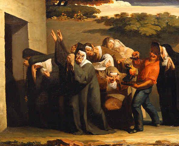Жан-Франсуа Милле. Монахини
