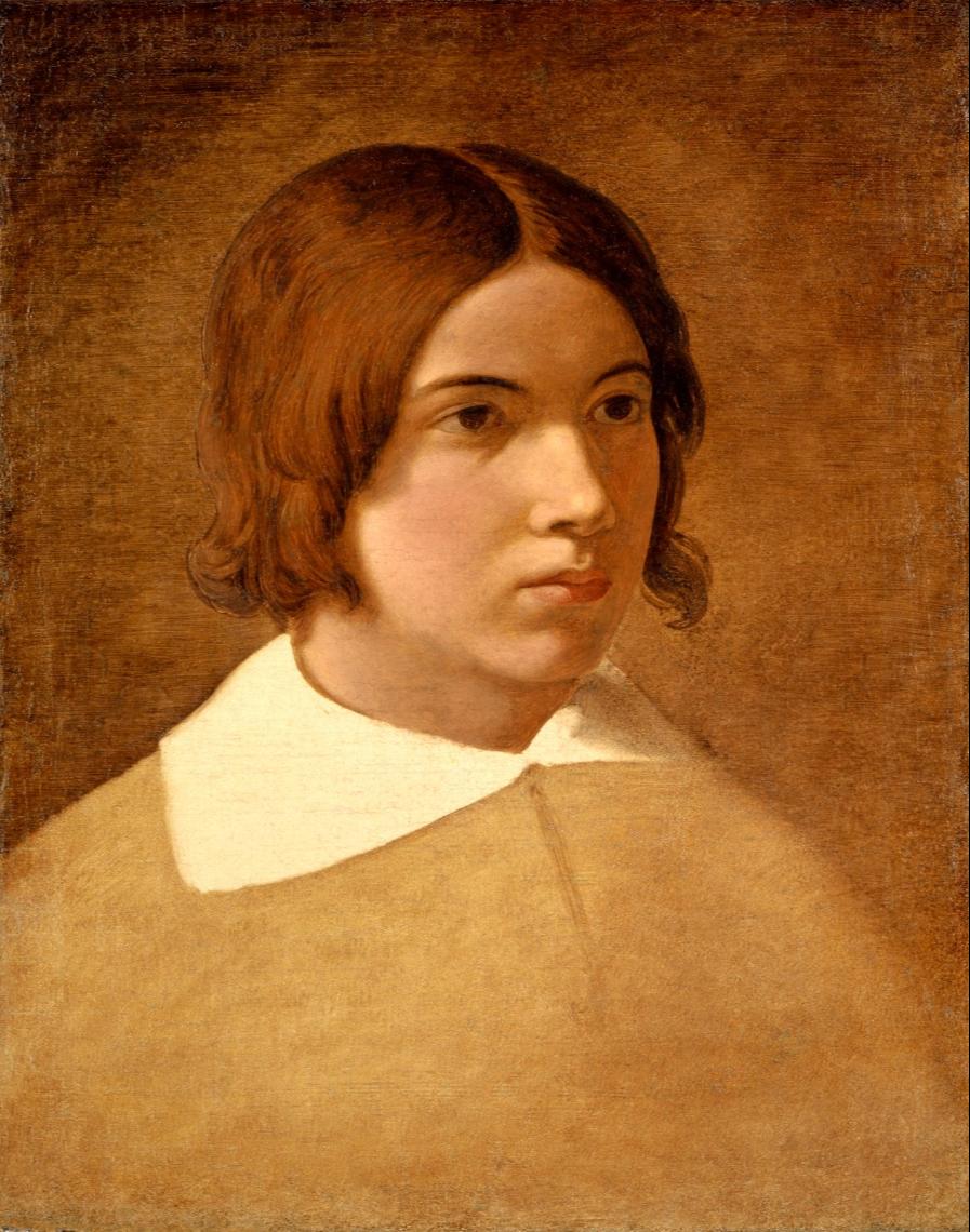 Johann Friedrich Overbeck. Portrait of the artist Franz von Rodin. Kunstmuseum Basel