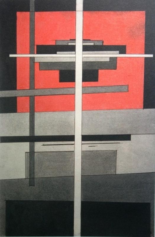 Ilya Chashnick. Suprematist composition
