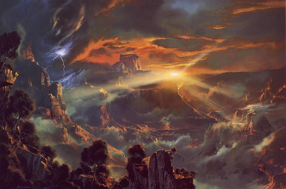 Дейл Тербуш. Возвышенный на небесах