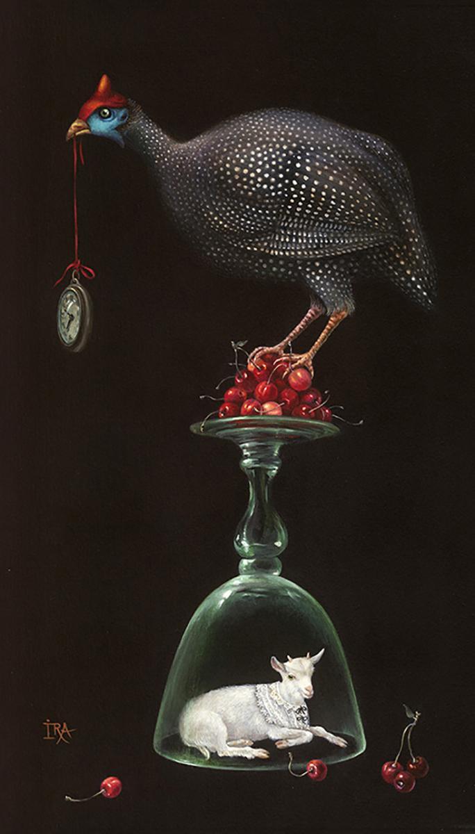 Irena Aizen. Pyramid with Cherries. Fine Art Prints