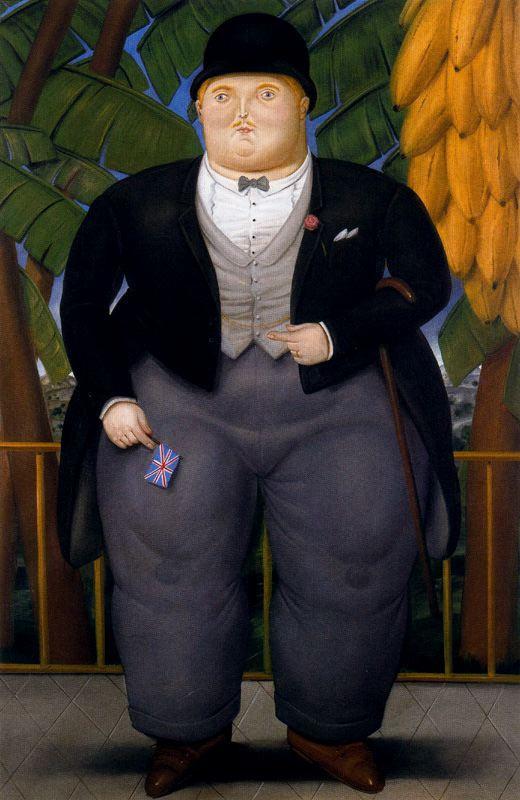 Fernando Botero. English Ambassador