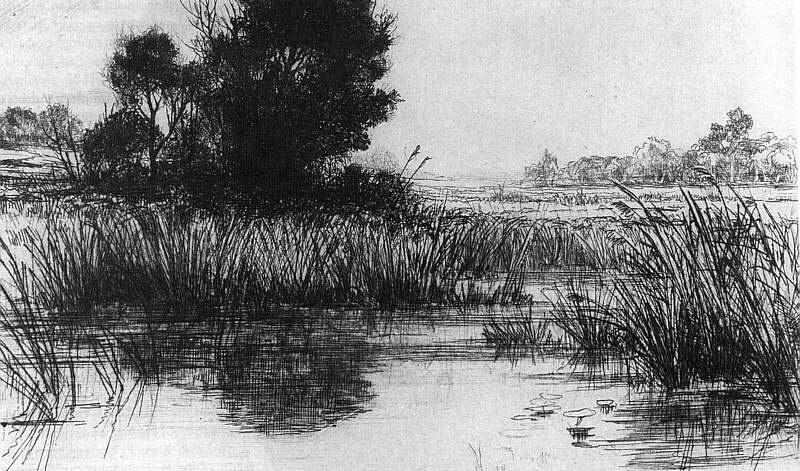 Реслер. Озеро