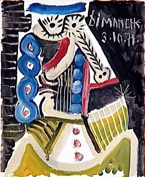 Пабло Пикассо. Воскресенье