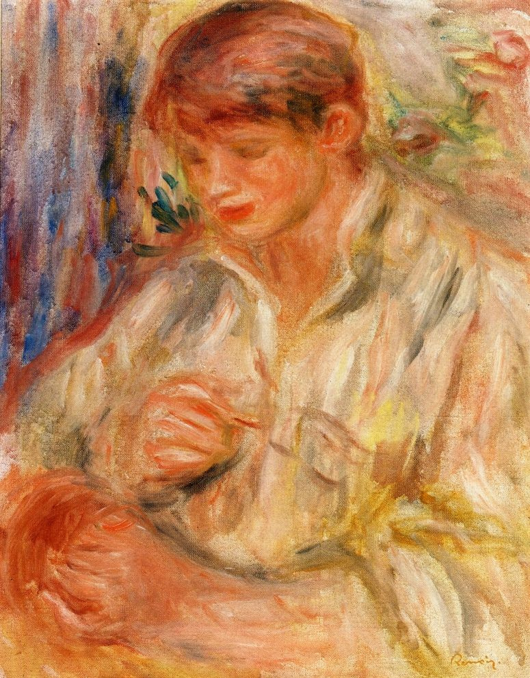 Pierre-Auguste Renoir. Claude Renoir involved in ceramics