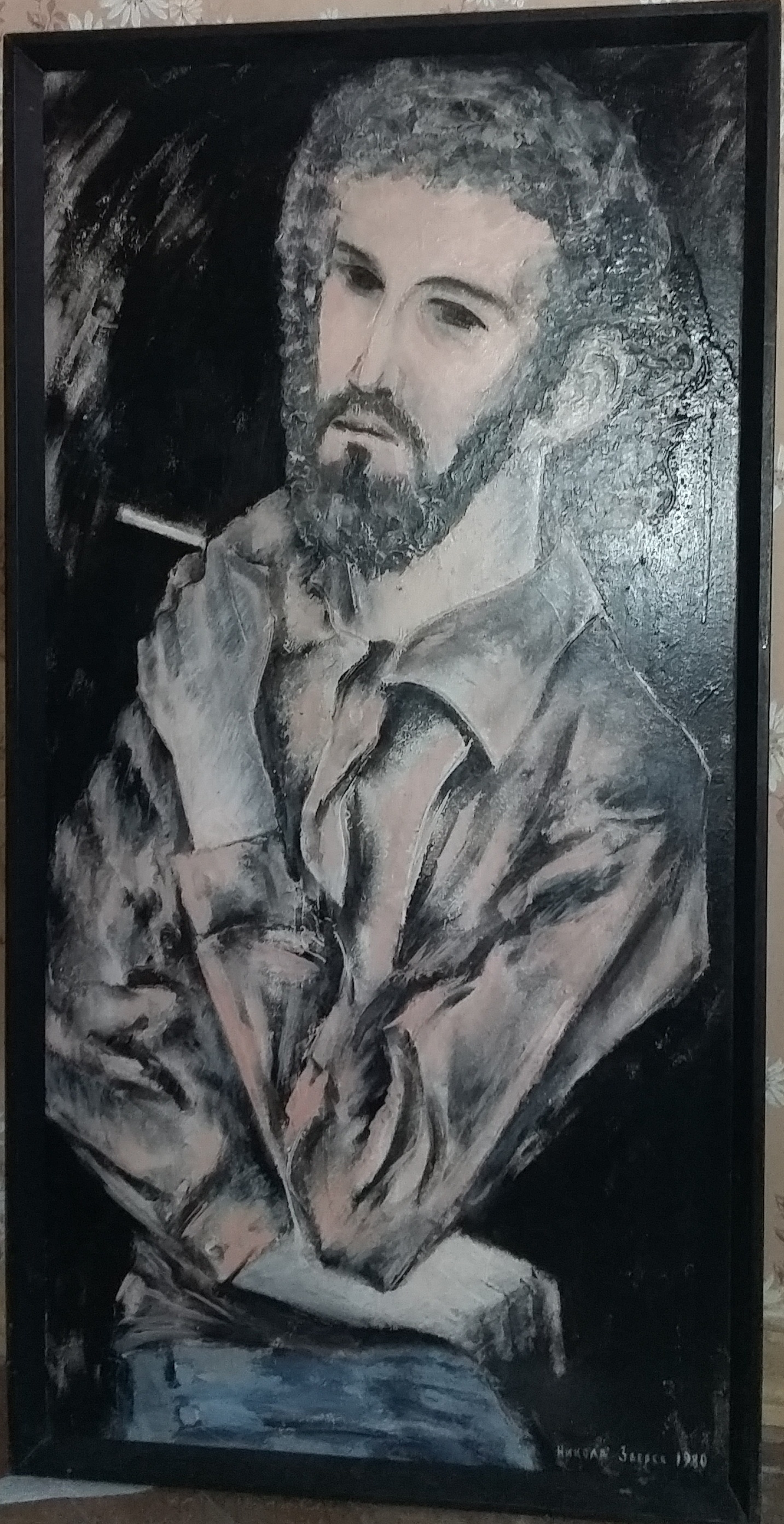 Nikolay Zverev. Man with a cigarette