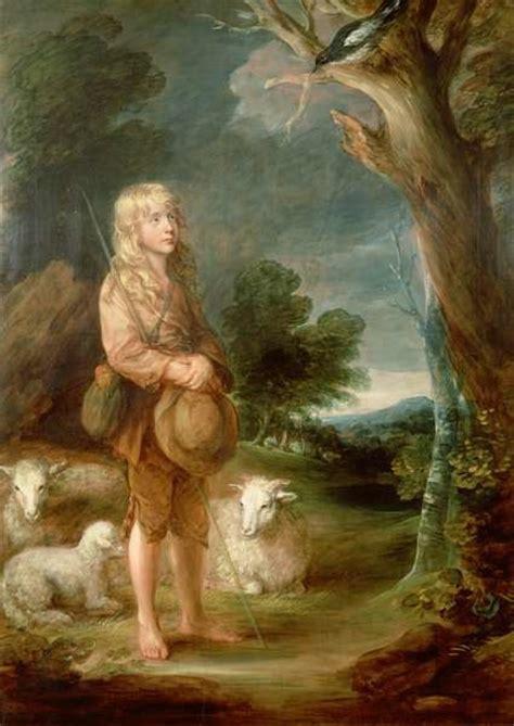Томас Гейнсборо. Мальчик-пастух, слушающий сороку