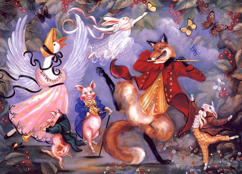 Pamela Silin Palmer. Fox and fiddle