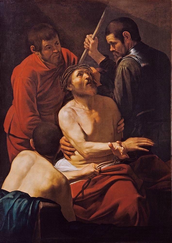Микеланджело Меризи де Караваджо. Коронование терновым венцом