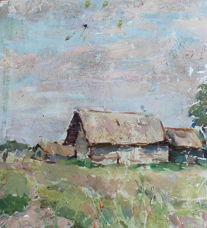 Valentin Borisovich Preobrazhensky. Rural landscape