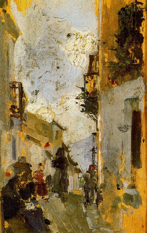 Хоакин Соролья (Соройя). Итальянская улица