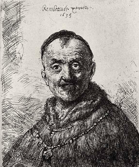 Рембрандт Харменс ван Рейн. Портрет восточного человека