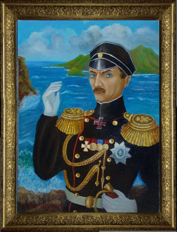 Vladimir Pavlovich Parkin. Russian coast. Russian sea. Russian admiral
