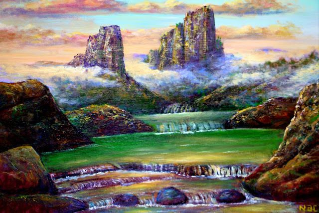 Najaf Mamedali oglu Mamedov. Emerald springs