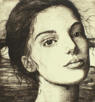 Меган Руденрус. Портрет девушки
