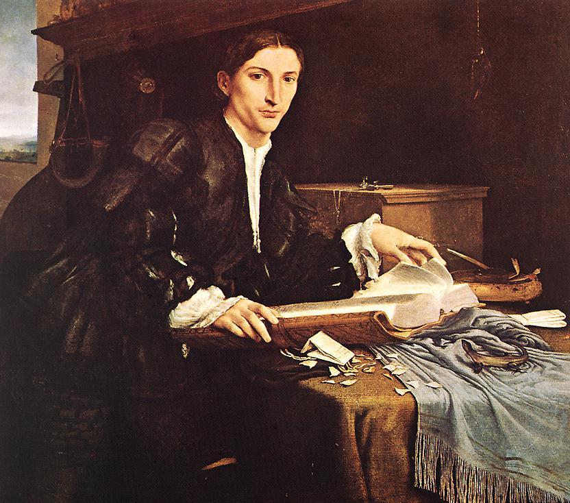Лоренцо Лотто. Портрет джентльмена