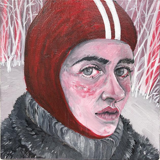 Valeria Tynyanaya. Skier