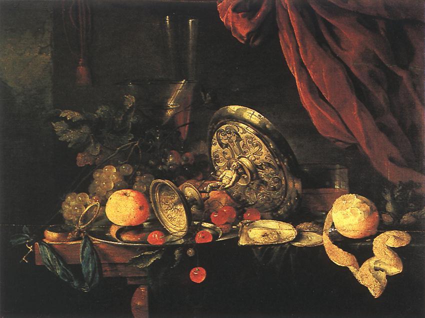 Ян Давидс де Хем. Натюрморт