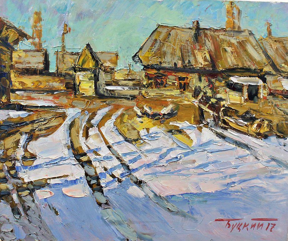Pavel Butsky. Winter