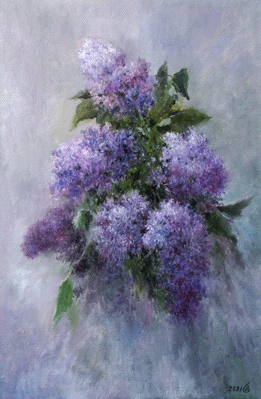 Сергей Владимирович Дорофеев. Lilac sketch