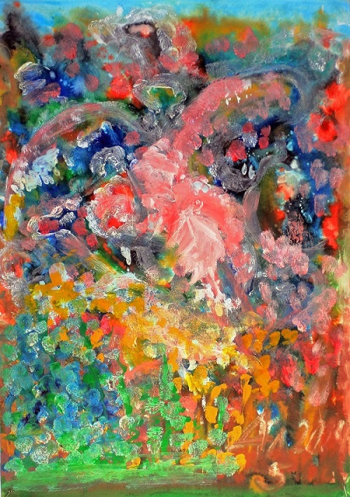 Unknown artist. The Firebird