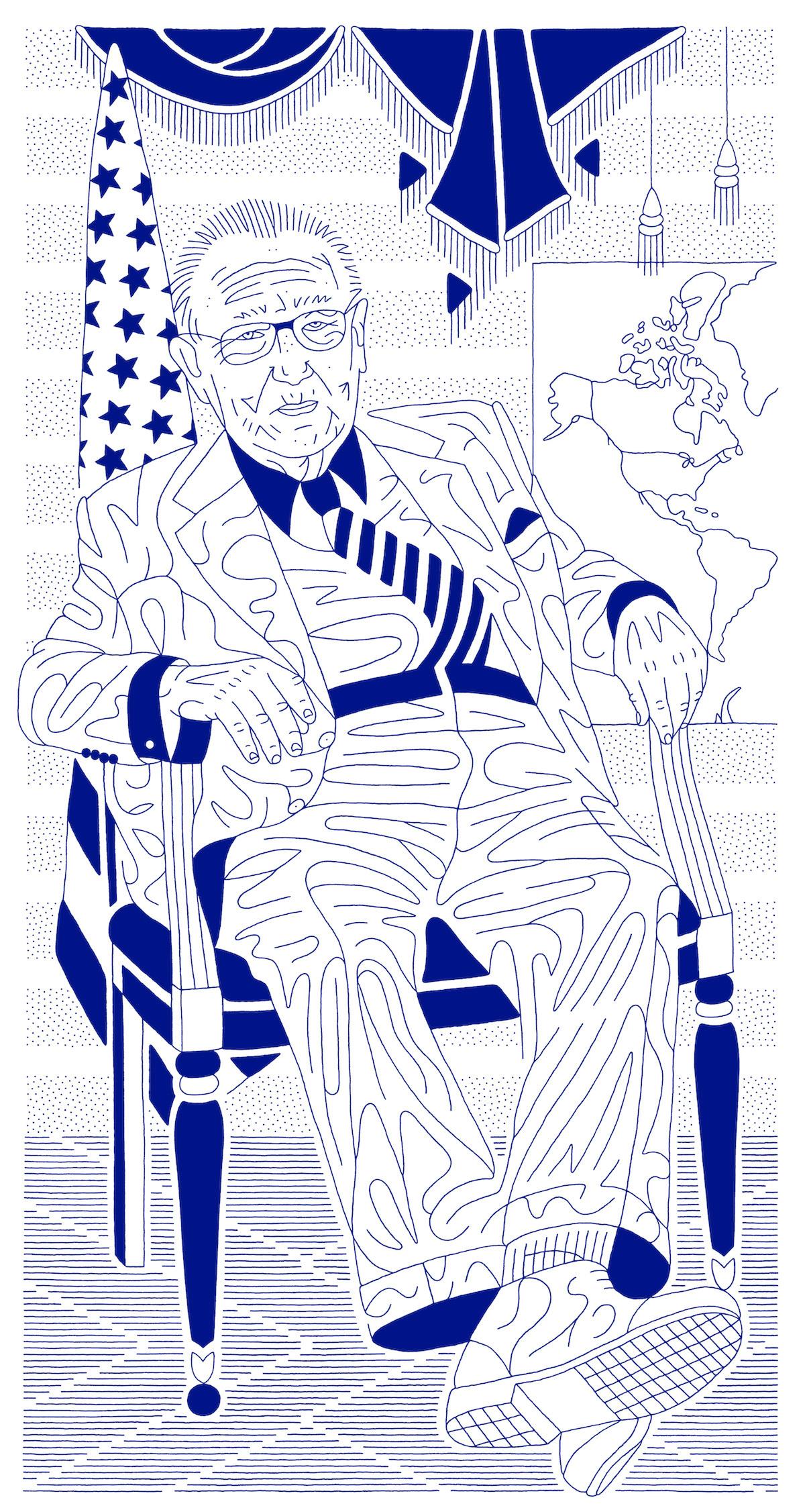 """Dmitry Gennadievich Borshch. """"Doctor Kissinger"""", also called """"In seine Hand die Macht gegeben"""""""