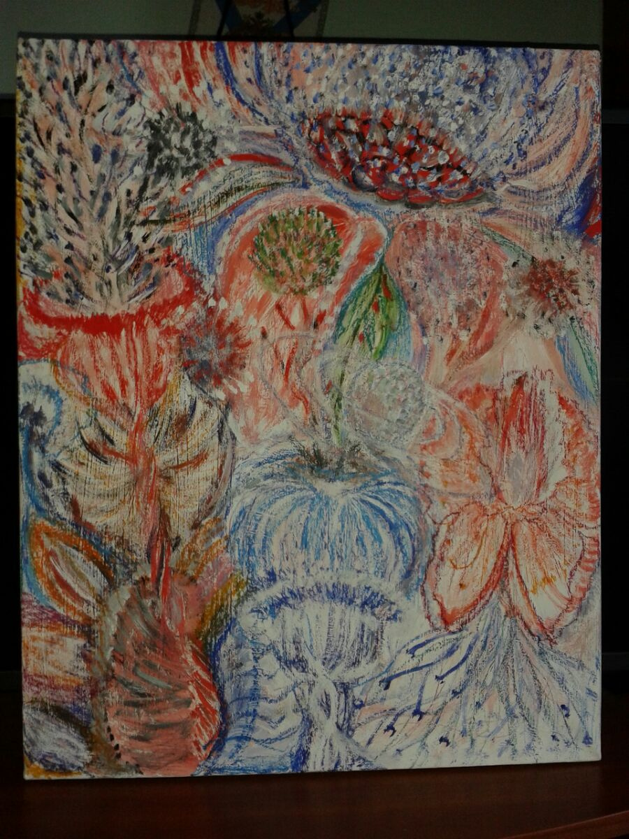 Ramina Rose. Martian bouquet \ MARSIANIAN BOUQUET