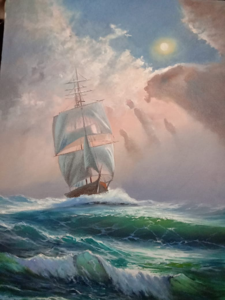 Samson Hakobyan. Sea