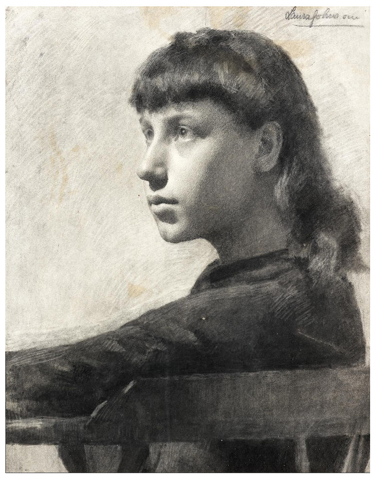 Laura Knight. Study of a girl