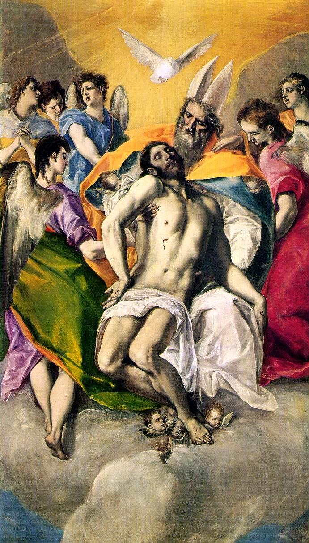 Domenico Theotokopoulos (El Greco). Holy Trinity