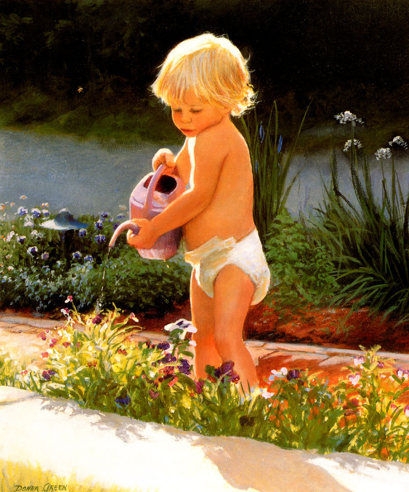Донна Грин. Маленький садовник